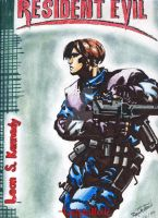 Leon S. Kennedy by 0LadyInRed0