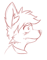 Profile sketch by wry-owl