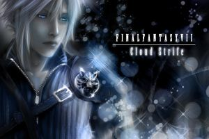 Final Fantasy VII Cloud Strife by LumenArtist