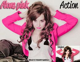 Action Pink by FernandaaH