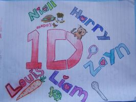 One direction (: by 9-AmBeR-6