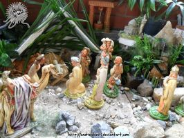 Nuclear Glowing Baby Jesus by andreshanti