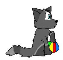 raven with a beach ball +gift+ by CoolCodeCat