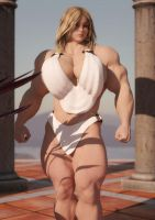 Daughter of Heracles by fantasymuscle