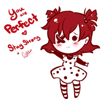 Friday Cheeb : Stay Strong by Cysco-Inu