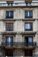 French windows stock by Sheiabah-Stock