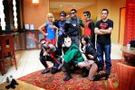 Young Justice - All together now by darkreilia
