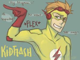 110205_KidFlash by sweetsugarpill