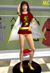Mary Marvel As A Hypnotized Mannequin by The-Mind-Controller