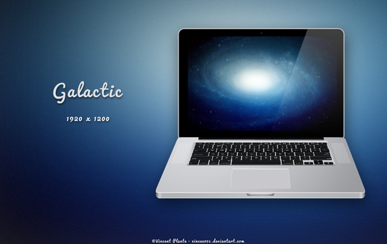 Galactic Wallpaper by Vincee095