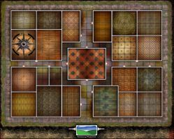 Real Heroquest Board by FarawayPictures
