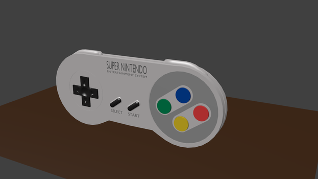 SNES Controller by 0985