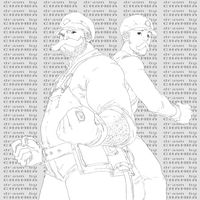 Mario Bros. -hi-res lines- by theCHAMBA
