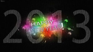 Happy New Year 2013 | Version 1 by TietzeDesign