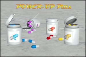 Power-Up Pills by deexie