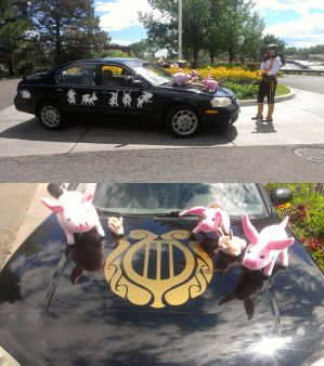 Tales of the Abyss Car by FeatheredCritter