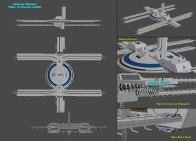 New Arcturus Class Station Concept by nach77
