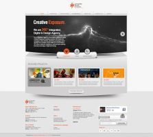 XDX Website grey version by sarbeen