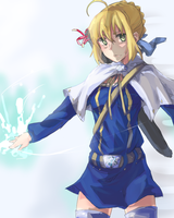 Saber mage by kango67