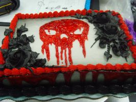 Skull Cake 2 by Christin-Jernigan