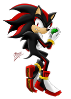 Shadow the Hedgehog by Myly14