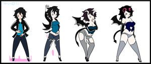 $ Succubus Transformation by ChompWorks