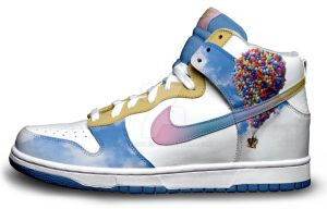 Custom Nike Dunks: Up by kaycunana