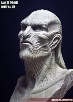 White Walker - Game of Thrones by FabricioWorks