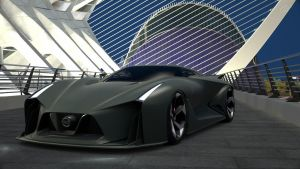 Nissan 2020 concept Vision GT by NightmareRacer85