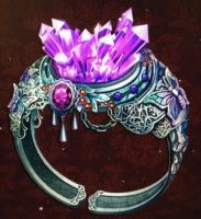 Royal amethyst ring by isaac77598