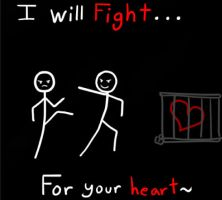 fight for love by my-darkness