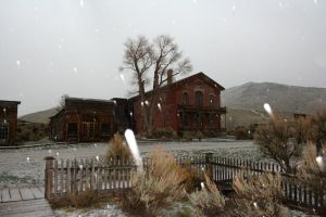 Bannack Ghost Town 288 by Falln-Stock