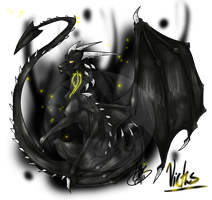 .:Commission:..:Victus:. by Dark-Spine-Dragon