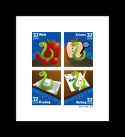Educational Stamps by acktacky