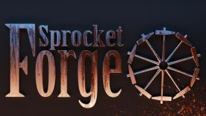 Sprocket Forge game studios logo by tidalkraken