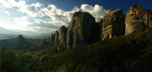Meteora Panorama by sonicc