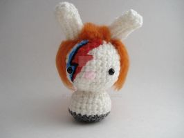 David Bowie Moon Bun by MoonYen