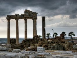 The Temple Of Apollo .. by MisterKrababbel