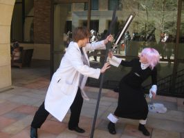 Crona vs Stein Cosplay by KannaItaGira
