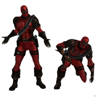 Injustice Gods Among Us: Deadpool by OGLoc069