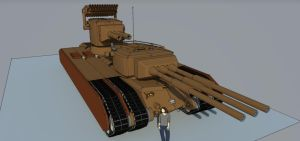 T36 Behemoth E2 by Giganaut
