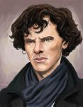 Sherlock by TheLivingShadow