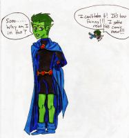 Beastboy as... by FullmetalApollo