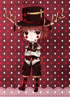 Adoptable 06 .:A Mad Deer:. AUCTION CLOSED by s-p-ri-ng