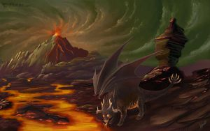 Beast of Inferno by joanniegoulet