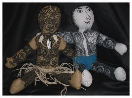 My Two Dolls - Fronts by bataleigh
