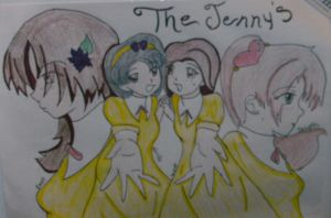The Jennys by HelloSunniLove