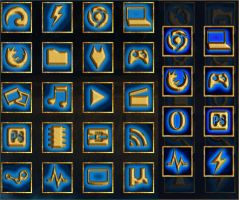 League of Legends Icons by yorgash