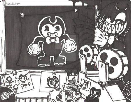 Bendy and the Ink Machine by Paol4
