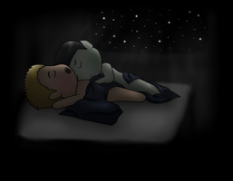 Spirk - Bed-Bug Hubs! (Chibi) by MSU82